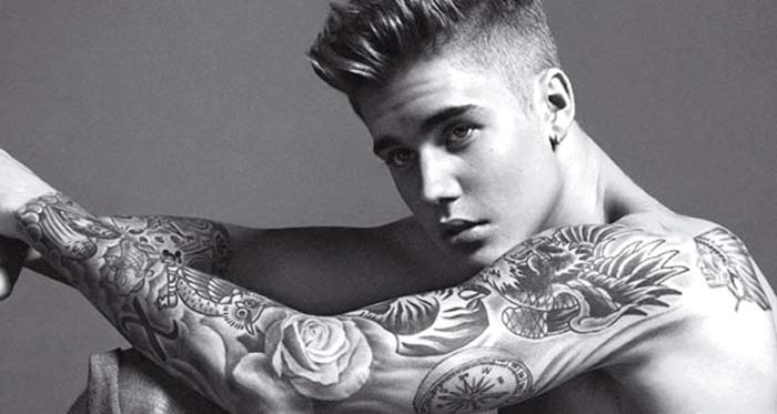Las fotos más sexys de Justin Bieber