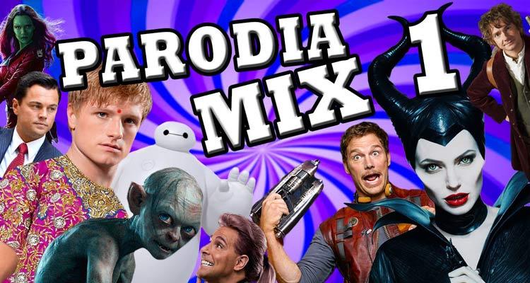 ¿Aún no conoces los Parodia Mix? Te esperan un montón de risas