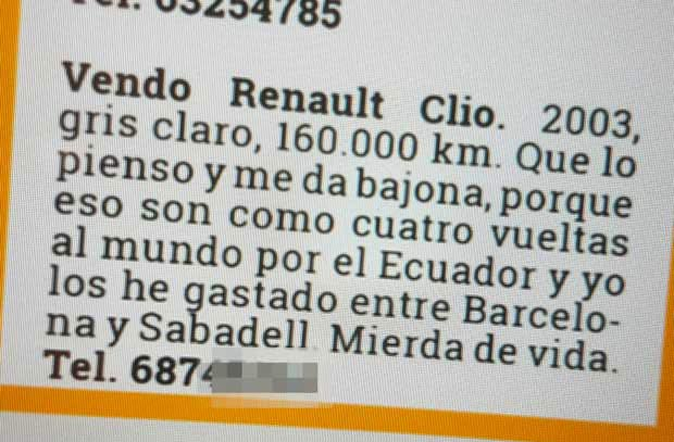 Anuncio Renault Clio