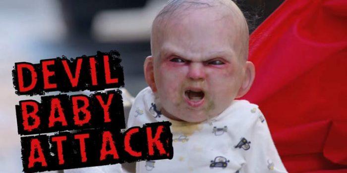 La broma del bebé diabólico que arrasó en Internet