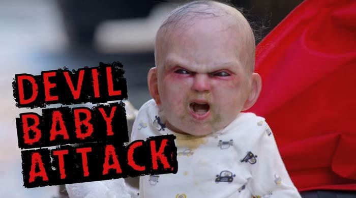 La broma del bebé diabólico