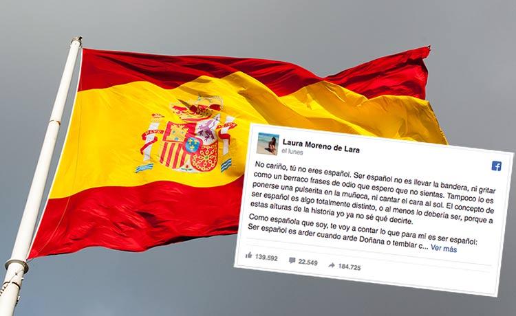 No cariño, tú no eres español