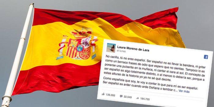 """""""No cariño, tú no eres español"""", el emocionante texto que ha triunfado en Facebook"""