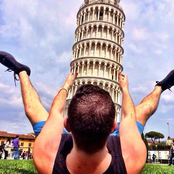 Torre de Pisa pene