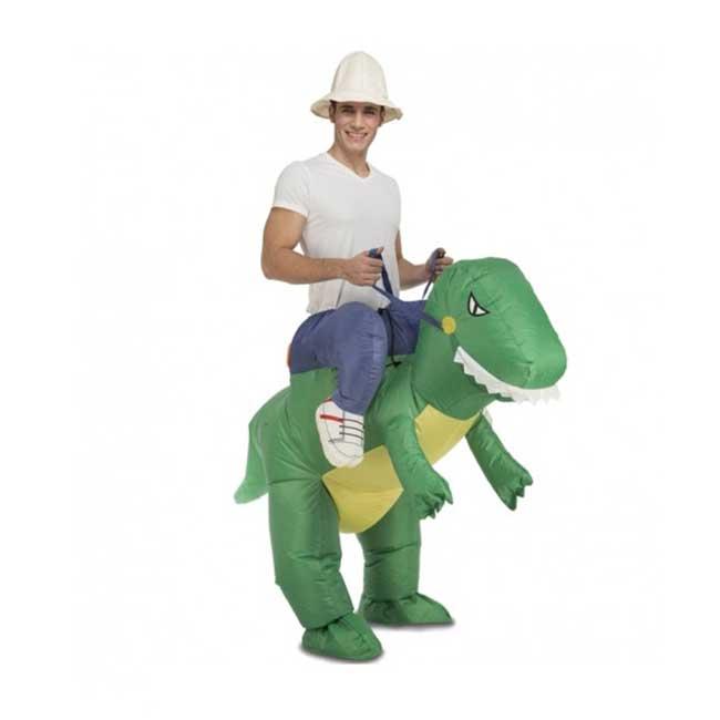 Disfraz hinchable dinosaurio