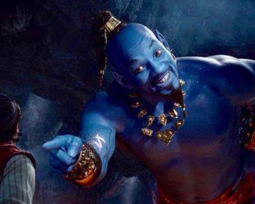 Genio azul de Aladdin
