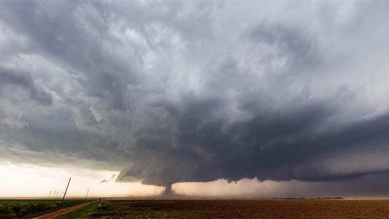 Time-lapse de una tormenta