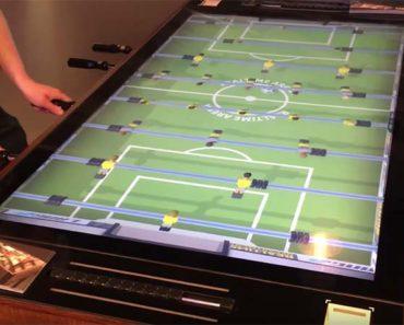 Futbolín interactivo