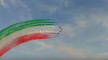 Vídeo de los cazas italianos